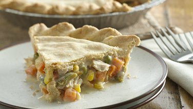 Chicken and Veggie Pot Pie