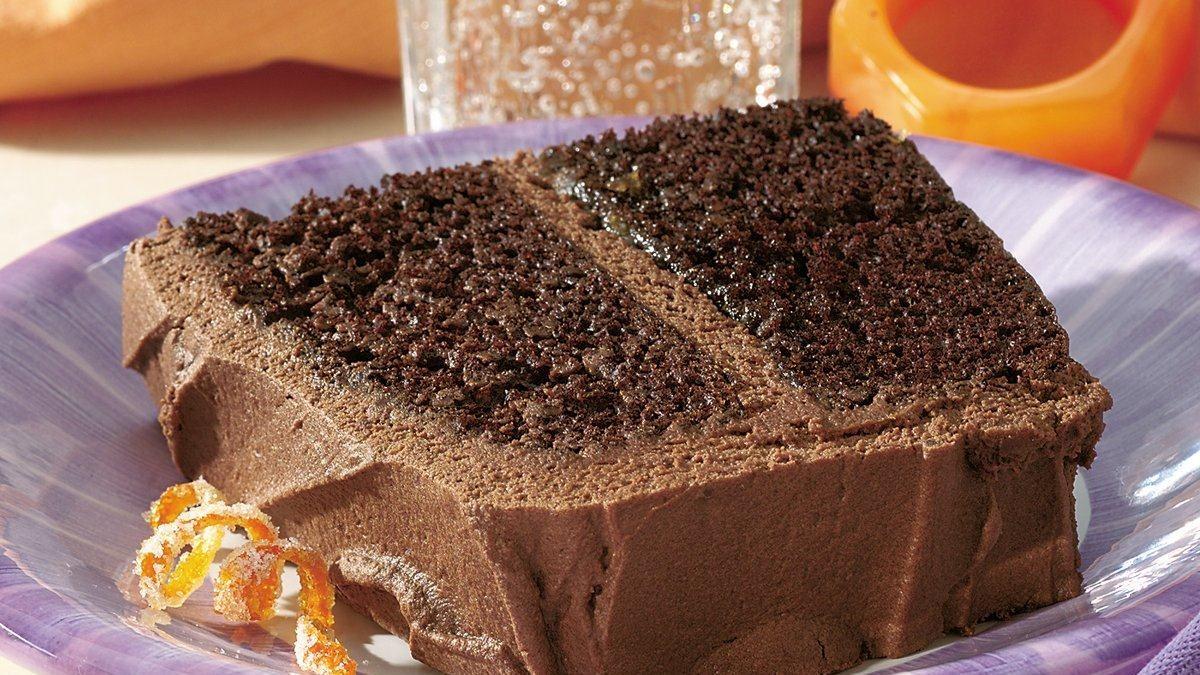 Chocolate Mocha Liqueur Cake Recipe