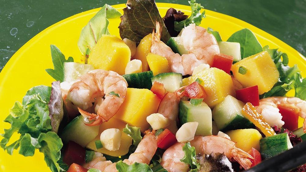 Shrimp and Mango