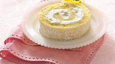 Lemon Cream Rolled Cake Recipe