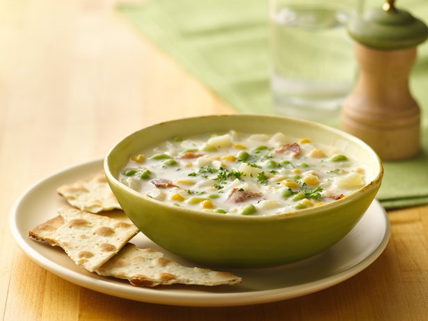 Edamame Corn Chowder