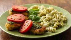 Pesto Parmesan Chicken and Pasta Recipe