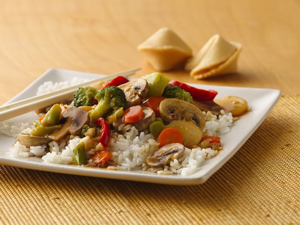 Image of Asian Vegetable Stir-fry, Betty Crocker