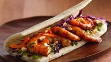 Citrus-Shrimp Wraps Recipe