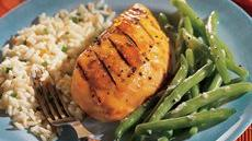 Grilled Teriyaki-Apricot Chicken Recipe