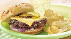 Hearty Hoedown Grilled Burgers Recipe