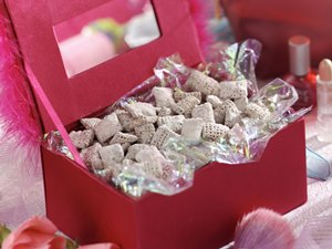Gluten-Free Pink Powder Puff Crunch