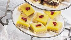 Lemon-Cranberry Bars Recipe