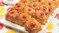 Peachy Pineapple Upside-Down Cake Recipe