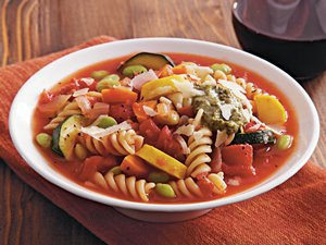 Slow&#32;Cooker&#32;Veggie&#32;Lover&#8217;s&#32;Minestrone