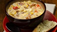 Slow Cooker Bacon and Corn Chowder Recipe