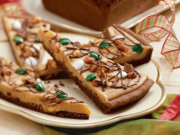 Chocolate Peanut Butter Candy Pizza