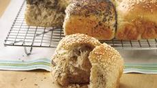 Two-Seed Checkerboard Dinner Rolls Recipe