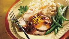 Pork Roast with Cranberries Recipe