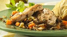 Tender Turkey and Wild Rice Recipe