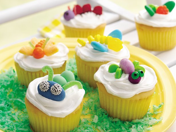 Bug Cupcakes