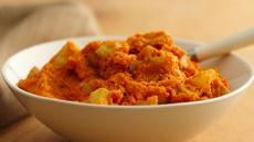 Mashed Sweet Potatoes and Apples Recipe