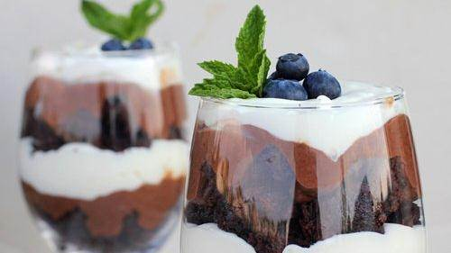 Fudgy Brownie Trifle recipe from Betty Crocker