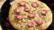 Grilled Margherita Pizza Recipe