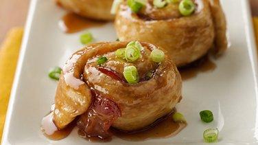Glazed Bacon Rollups