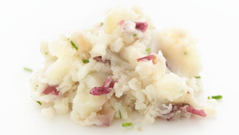 Healthified Mashed Potatoes