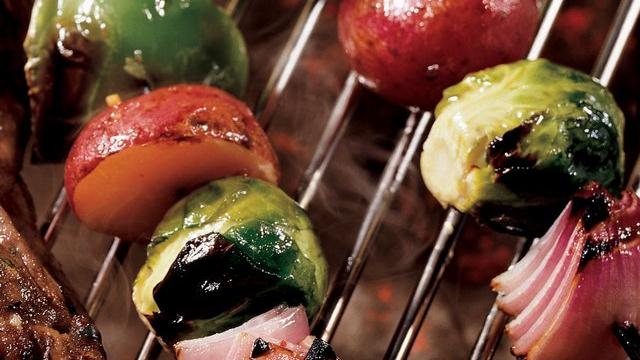 Italian Vegetable Kabobs