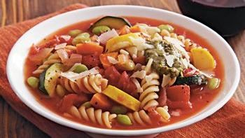 Slow-Cooker Veggie Lover's Minestrone