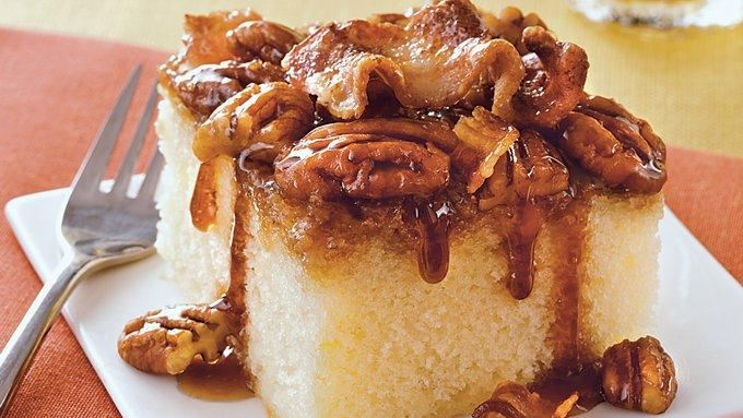 Maple Bacon Upside Down Cake recipe - from Tablespoon!