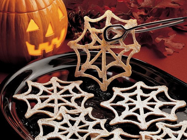 Cobweb Cookies