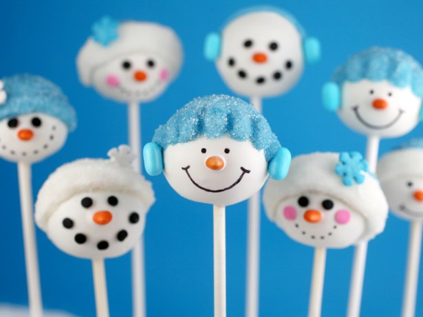 Bakerella's Snowman Cake Pops
