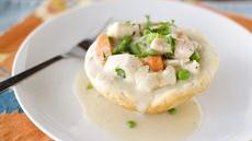 Inside-Out Chicken Pot Pies Recipe