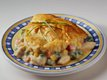 Easy Chicken Pot Pie (Cooking for 2)