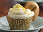 Green Tea and Lemon Cupcakes