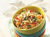 Slow Cooker Spring Rice Pilaf