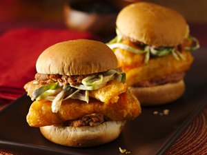 Fish&#32;Taco&#32;Torta&#32;Sliders