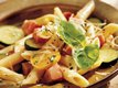 Penne and Ham Primavera