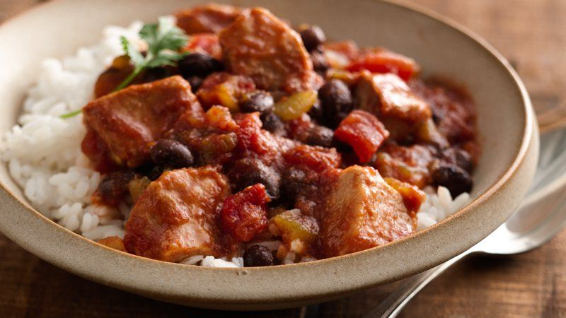 Slow-Cooker Mexican Pork recipe from Betty Crocker