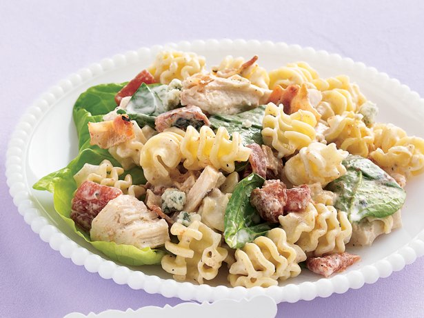 Chicken-Gorgonzola Pasta Salad