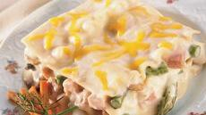 Ham and Asparagus Lasagna Recipe