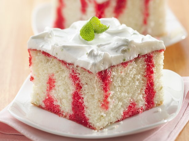 cherry cake, lime cake, cherry-lime cake, birthday cake, poke cakes, summer cake, cake recipes #ad #sponsored