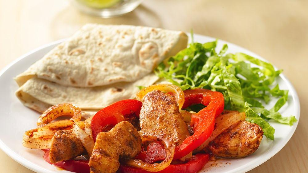 Sizzling Grilled Chicken Fajitas