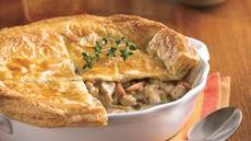 Chicken Pot Pie with Flaky Crust Recipe