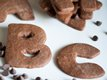 Chocolate-Cinnamon Letter Cookies