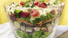 Layered Chicken Salad Recipe