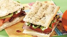 Easy Beef Focaccia Sandwiches Recipe