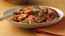 Braised Sausage and Beans Recipe