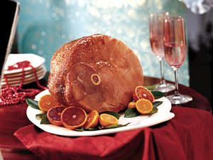 Baked&#32;Ham&#32;with&#32;Balsamic&#32;Brown&#32;Sugar&#32;Glaze