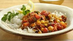 Chick Pea and Tomato Curry