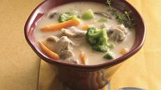 Slow Cooker Chicken-Vegetable Chowder Recipe