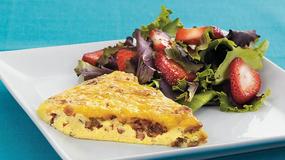 Sausage and Cheese Frittata recipe from Pillsbury.com